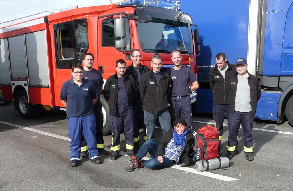 Ich bin Feuer und Flamme für die Freiwillige Feuerwehr Oberweier (Ja, Floskelfreude, Herr Reckermann)